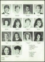 1989 Ida High School Yearbook Page 18 & 19
