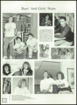 1989 Ida High School Yearbook Page 32 & 33
