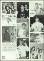 1989 Ida High School Yearbook Page 50 & 51