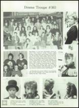 1989 Ida High School Yearbook Page 116 & 117
