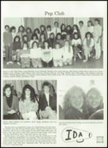 1989 Ida High School Yearbook Page 124 & 125