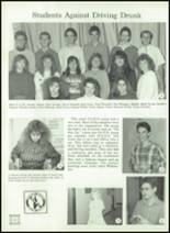 1989 Ida High School Yearbook Page 130 & 131