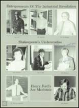 1989 Ida High School Yearbook Page 136 & 137