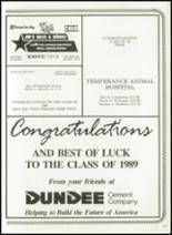 1989 Ida High School Yearbook Page 160 & 161