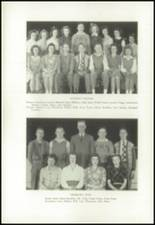 1945 Strong High School Yearbook Page 22 & 23