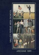 1981 Yearbook Valley Forge High School