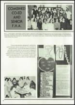 1982 McClain High School Yearbook Page 42 & 43