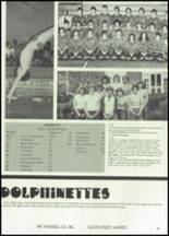 1982 McClain High School Yearbook Page 56 & 57
