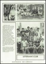 1982 McClain High School Yearbook Page 64 & 65