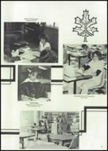 1982 McClain High School Yearbook Page 74 & 75
