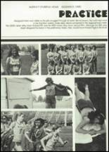 1982 McClain High School Yearbook Page 84 & 85