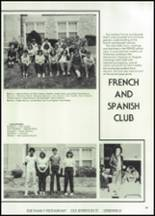 1982 McClain High School Yearbook Page 86 & 87