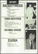 1982 McClain High School Yearbook Page 100 & 101