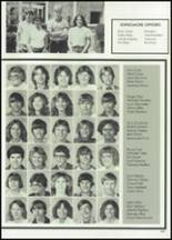 1982 McClain High School Yearbook Page 126 & 127
