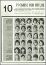 1982 McClain High School Yearbook Page 128 & 129