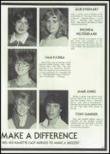 1982 McClain High School Yearbook Page 130 & 131