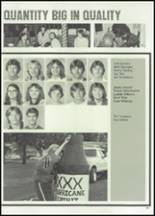 1982 McClain High School Yearbook Page 134 & 135