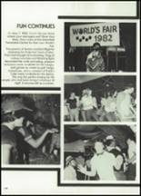 1982 McClain High School Yearbook Page 162 & 163