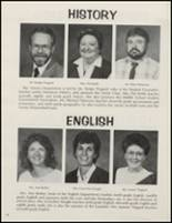 1986 Donoho High School Yearbook Page 58 & 59