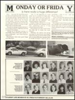 1984 Gahanna Lincoln High School Yearbook Page 90 & 91