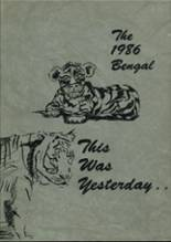 1986 Yearbook Mercedes High School