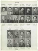 1955 Washington High School Yearbook Page 18 & 19