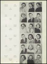 1955 Washington High School Yearbook Page 22 & 23