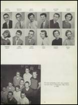 1955 Washington High School Yearbook Page 26 & 27