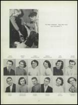1955 Washington High School Yearbook Page 28 & 29