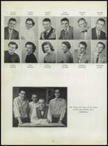 1955 Washington High School Yearbook Page 30 & 31