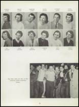 1955 Washington High School Yearbook Page 32 & 33