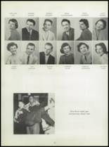 1955 Washington High School Yearbook Page 36 & 37