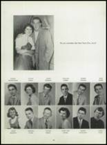 1955 Washington High School Yearbook Page 40 & 41