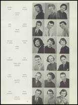 1955 Washington High School Yearbook Page 42 & 43