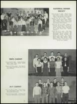 1955 Washington High School Yearbook Page 92 & 93