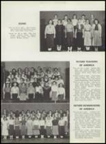 1955 Washington High School Yearbook Page 94 & 95