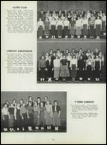 1955 Washington High School Yearbook Page 96 & 97