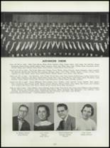 1955 Washington High School Yearbook Page 106 & 107