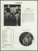 1955 Washington High School Yearbook Page 128 & 129