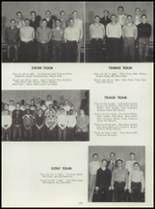 1955 Washington High School Yearbook Page 132 & 133
