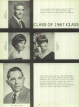 1967 Gustine High School Yearbook Page 16 & 17