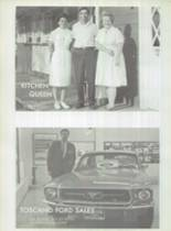 1967 Gustine High School Yearbook Page 128 & 129