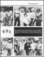 1983 John Glenn High School Yearbook Page 90 & 91