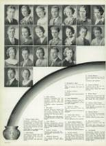 1933 DeVilbiss High School Yearbook Page 42 & 43