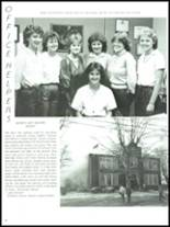 1985 Buckeye Central High School Yearbook Page 90 & 91