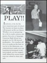 1994 Cameron High School Yearbook Page 34 & 35