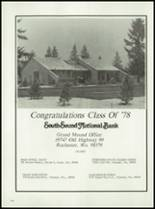 1978 Rochester High School Yearbook Page 118 & 119