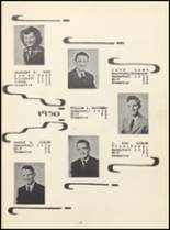 1950 Winona High School Yearbook Page 16 & 17