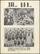 1950 Winona High School Yearbook Page 36 & 37