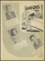 1950 Springville High School Yearbook Page 10 & 11